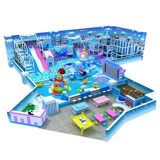 Ice & Snow Themed Amusement Park Indoor Playground Equipment for sale