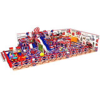 Customized Amusement Park Indoor Playground Equipment for Kids