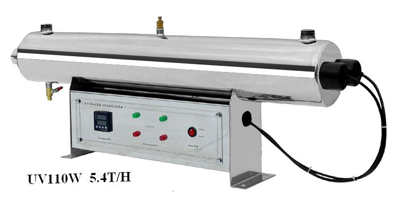 Stainless Steel UV Water Sterilizer 110W