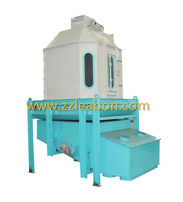 Vibration Counterflow Sewing Wood Sawdust Pellet Cooler with Good Screening Effect