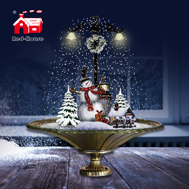 (GP075ST4-C) Best Artificial Christmas Tree and Figures Lights with Music for Room Decoration