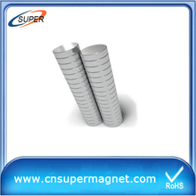 High Grade 23*25mm Sintered Neodymium Magnet