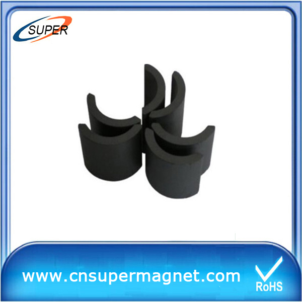 Y30BH Chinese Sintered Hard Speaker Ferrite Magnet For Sale
