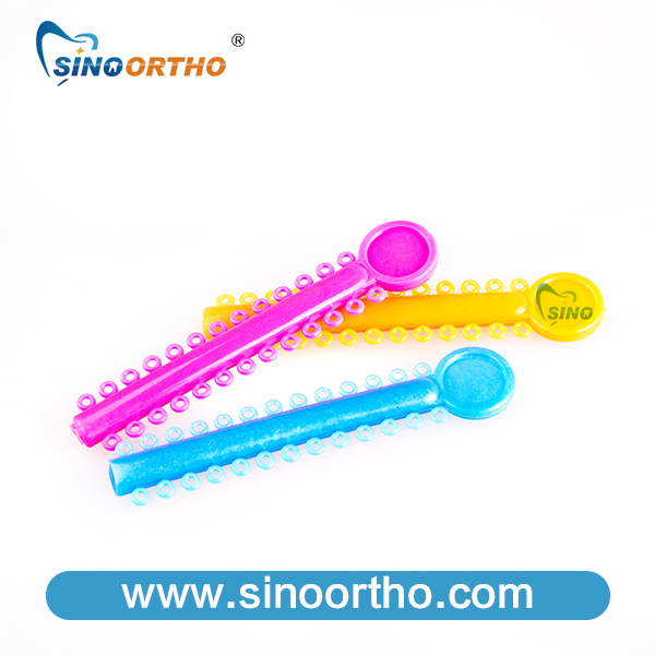 Orthodontic Ligature Ties Elastomeric