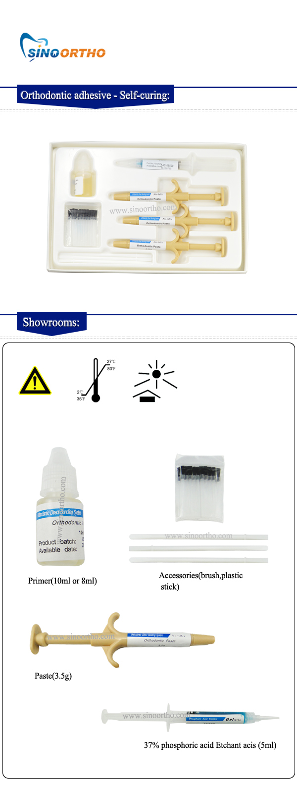 Orthodontic-adhesive---Self-curing