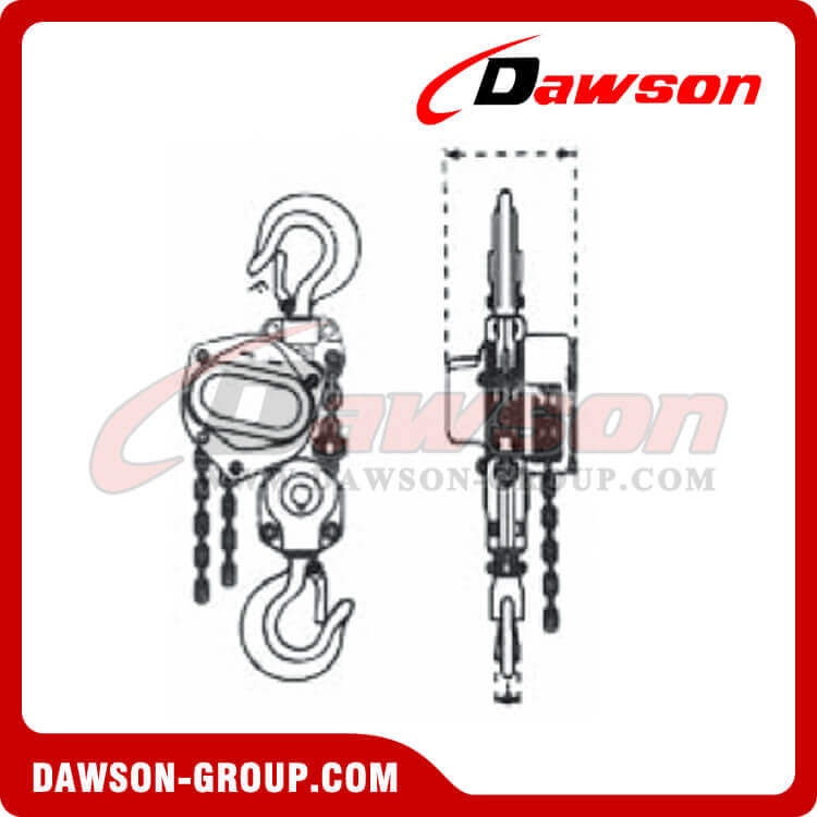 DS308A 0.5T Non-Sparking Chain Hoist - Dawson Group Ltd. - China Supplier, Exporter
