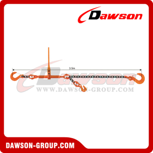 G80 Lashing Chains with Ratchet, Grade 80 Ratchet Chain Lashing