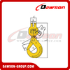 DS007 G80 / Grade 80 Clevis Swivel Self-Locking Hook with Bearing for Crane Lifting Chain Slings