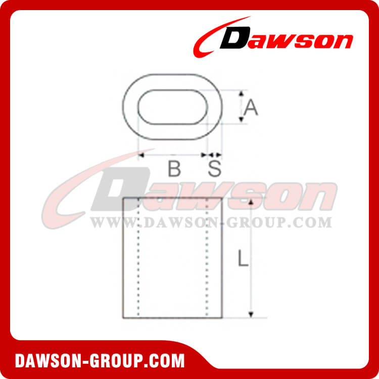 ALUMINUM FERRULES SPECIFICATION EN13411-3(DIN3093) - Dawson Group Ltd. - China Manufacturer, Supplier, Factory, Exporter