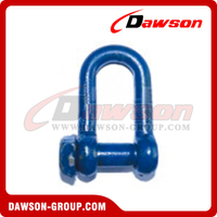 Trawling Dee Shackle Oversized Square Head with Blue Painted
