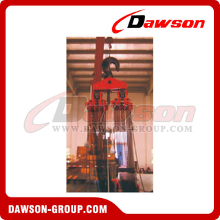 100T Chain Hoist, 100000KG Manual Chain Block for Ship Buildings