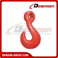 G80 / Grade 80 Forged Alloy Steel Eye Twist Hook for Lashing and Pulling