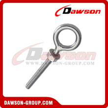 Stainless Steel Eye Bolt with Nut