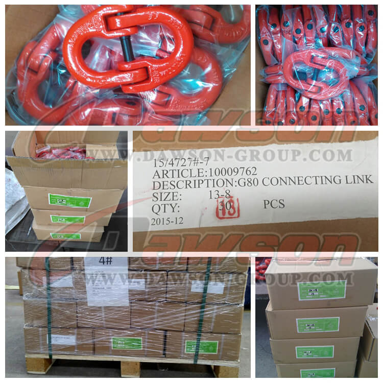 G80 Connecting Link packing - Dawson Group Ltd. - China Manufacturer, Supplier, Factory