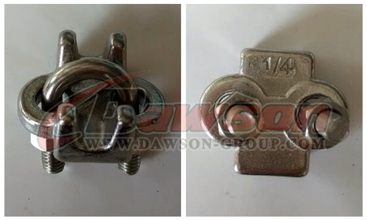stainless steel US type wore rope clips - China manufacturer supplier