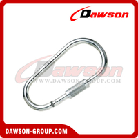 Stainless Steel Egg Type Snap Hook with Screw