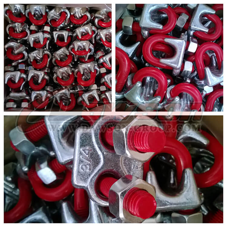 G450 Drop Forged Wire Rope Clip Body, U Bolt, Red - Dawson Group Ltd. - China Manufacturer, Supplier, Factory, Exporter