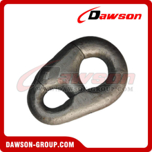 Pear Shaped Connecting Shackle for Oil Platform Mooring Chain