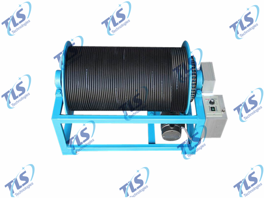 Electric Winch for Borehole Inspection Camera System-1