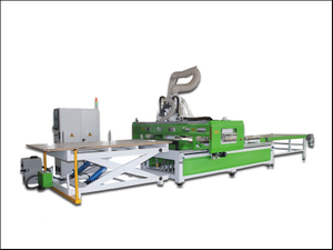 Automatic wood carving machine furniture production line