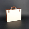Wine Box Manufacturer Pu leather 3 bottle wine carrier