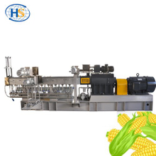 PVA + Starch Biodegradable Granules Making Twin Screw Extruder