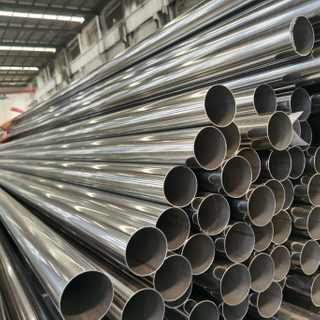 Stock Manufactured Material ASTM Seamless Stainless Steel Pipe