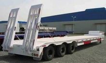 3 Axles Lowbed Semi Trailer