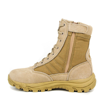 Youth tactical yellow desert boots 7202