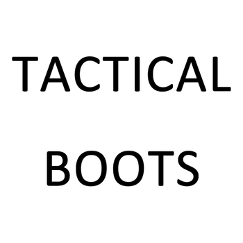 What is the origin of the name of military tactical boots?