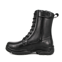 Malaysia ritual waterproof military full leather boots 6296