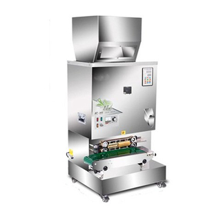 Automatic tea Dispenser and sealing machinery JAT300