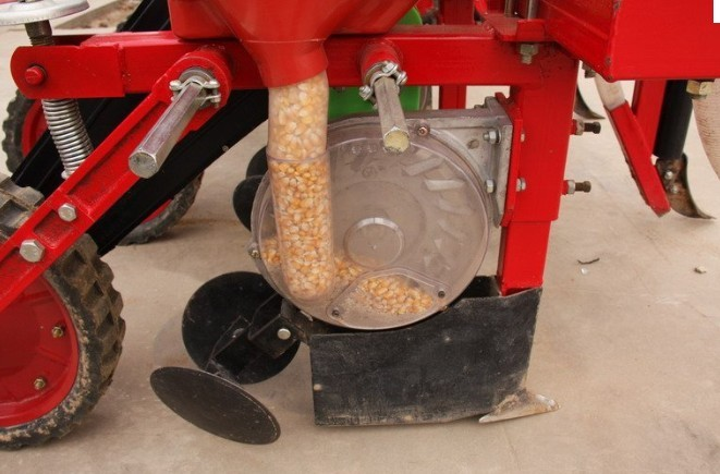 Precision Corn Planter Fertilizer