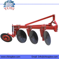 Three Disc Plough