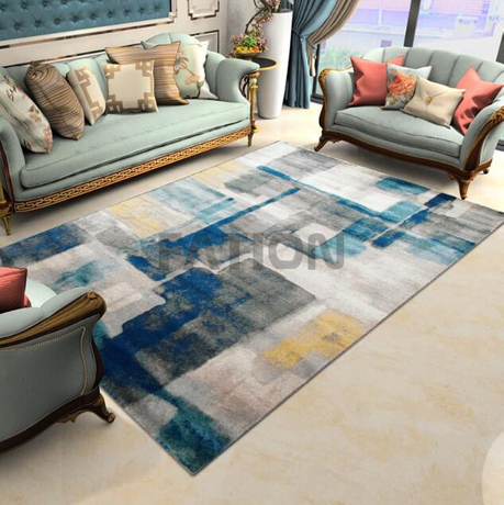 5'×8' Modern Living Room Polypropylene Carpet