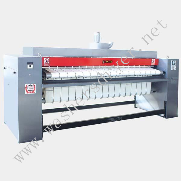 Gas natural Ironer Heated