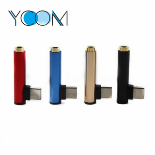 USB Type C to 3.5mm Headphone Jacket Adapter
