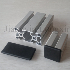 40X80 Sliver Anodized Aluminium Profile for Industry