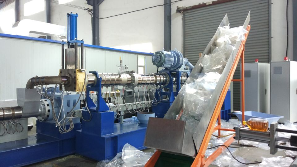 PP/PE Film Recycling Granulator Machine for Plastic Recycled Compound Machine