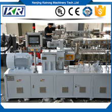 Tse Series Plastic Compound Pellet Filler Masterbatch Twin Screw Extruder Machine Price for Pelletizer Extrusion Line