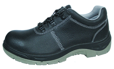 Genuine leather pu sole steel toe cheap safety shoes