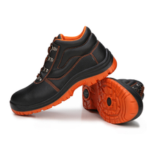 Best selling PVC injection work safety boots for work men