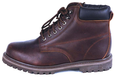 97052C oil full grain goodyear welted boots with steel toe