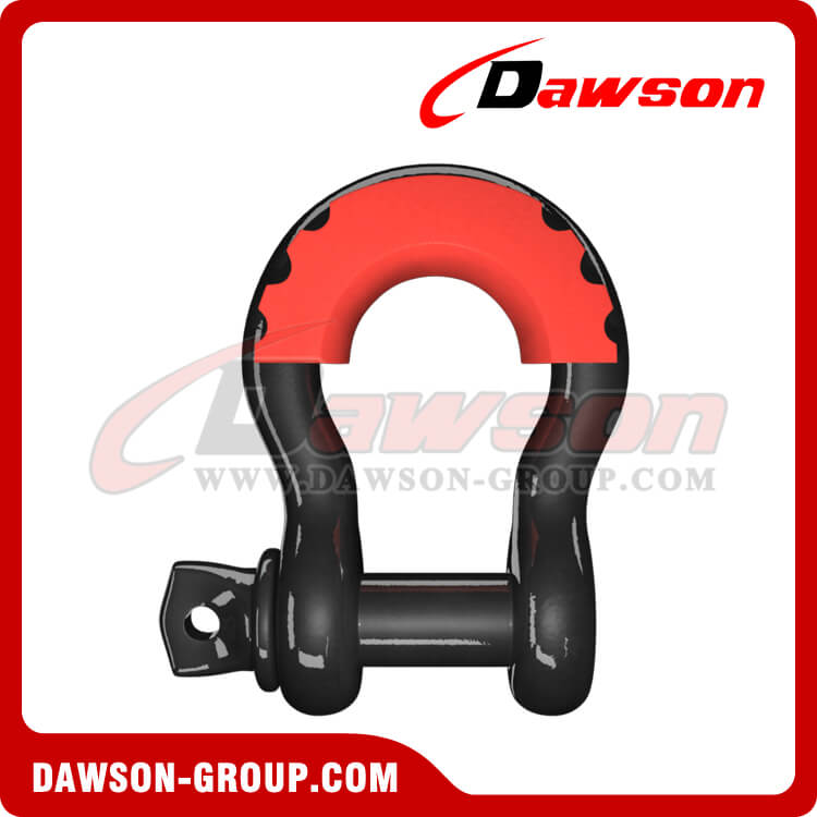 Drop Forged Bow Shackle with PU Protection for Towing and Recovery Strap - China Supplier, Factory