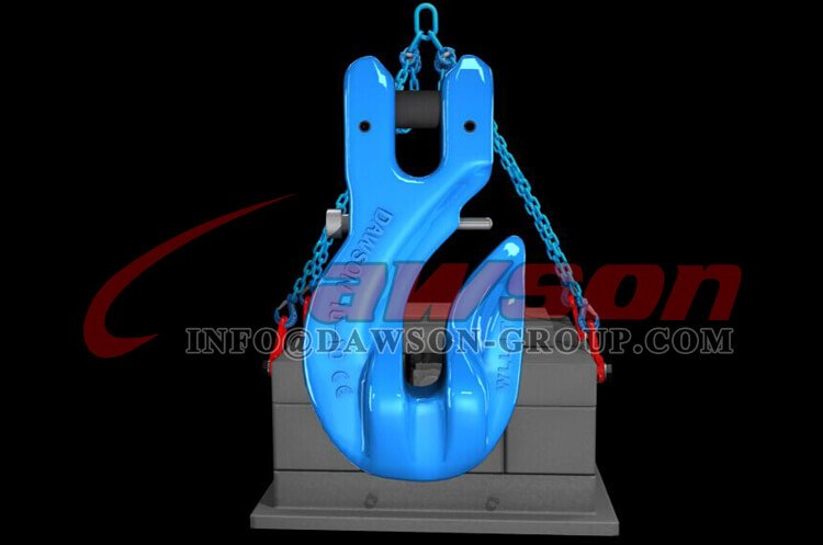 Application of G100 Special Clevis Grab Hook with Safety Pin - China Supplier, Factory