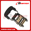 Black Painted Ratchet Buckle with Rubber Handle for Ratchet Tie Down