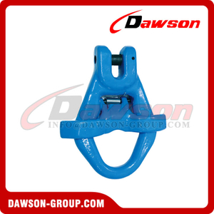 DS1066 G100 Clevis Master Link with Latch Bolt for Container Lifting