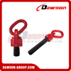 Metric Thread and UNC Thread Type G80 Swivel Hoist Ring