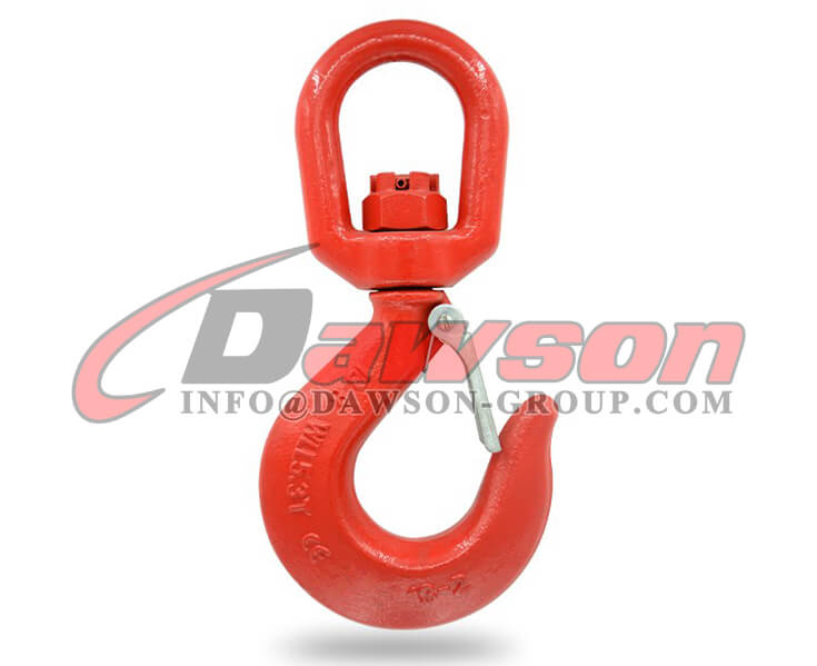 G80 Forged Alloy Steel Swivel Hook with Latch, Grade 80 Alloy Hook - Dawson Group Ltd. - China Supplier, Factory
