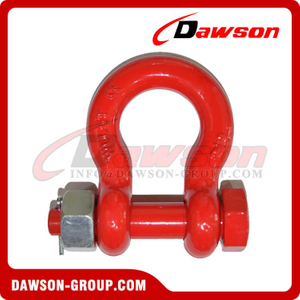 DS756 G8 Bolt Type Alloy Bow Shackle